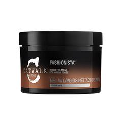 Tigi Catwalk Fashionista Brunette Mask - Тонирующая маска для темных волос
