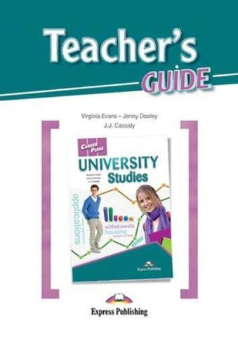 University studies (esp). Teacher's guide. Книга для учителя