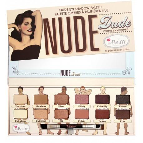 Палетка теней The Balm Nude Dude