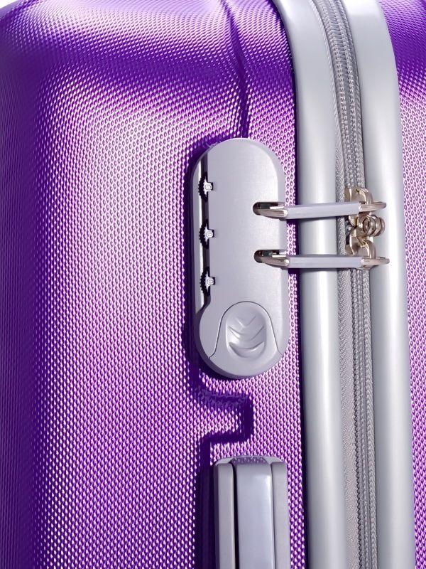 Чемодан Ananda 533 Фиолетовый L