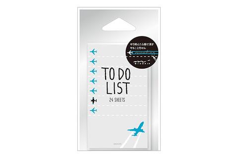 Midori Sticky Paper To-Do (самолет)