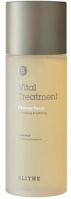 BLITHE Vital Treatment 5 Energy Roots увлажняющая эссенция для лица 150мл