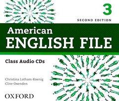 AM ENGLISH FILE  2ED 3 CL CD(4)  2014