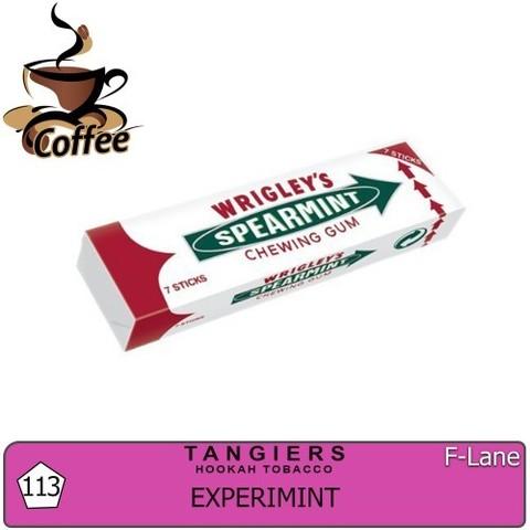 Табак Tangiers Experimint T113 (Танжирс Экспериминт - Мятная Жвачка) |F-Line 20г