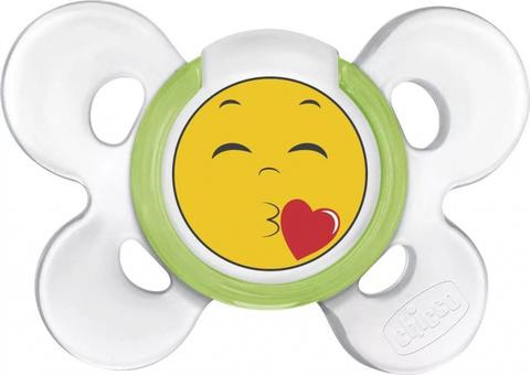 Пустышка Physio Comfort Smile, 1 шт., 6-12 мес., сил. (стандарт)