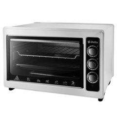 Мини печь   Духовка электрическая 1300 Вт 37 л DELTA D-0123 белая