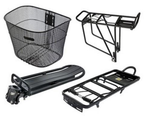 Купити багажники, кошики для велосипедів