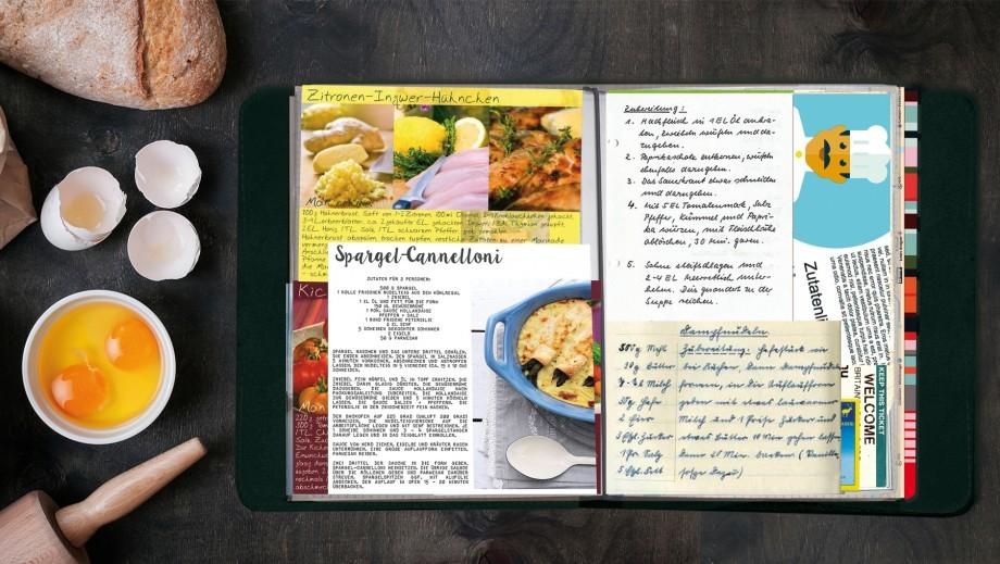 Книга - блокнот А5 для записи кулинарных рецептов TasteBook Zigzag, кожа Remember tt05 | Купить в Москве, СПб и с доставкой по всей России | Интернет магазин www.Kitchen-Devices.ru