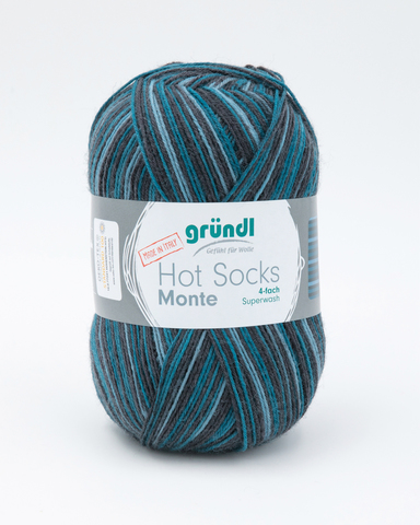 Носочная пряжа Gruendl Hot Socks Monte 06 купить