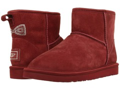 UGG Classic Mini Crystal Bow Red
