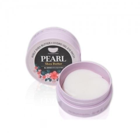 KOELF Pearl & Shea Butter Eye Patch  Гидрогелевые патчи для глаз с маслом ши и порошком жемчуга(60 шт)