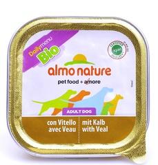 Консервы (ламистер) Almo Nature Daily Menu Bio - Pate Veal