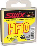 Парафин лыжный высокофтористый Swix HF10X-4 Yellow 0C/+10C 40гр