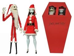 Кошмар перед рождеством фигурки Джек и Салли Санта
