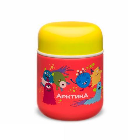 Термос для еды детский Арктика (0,28 литра), красный