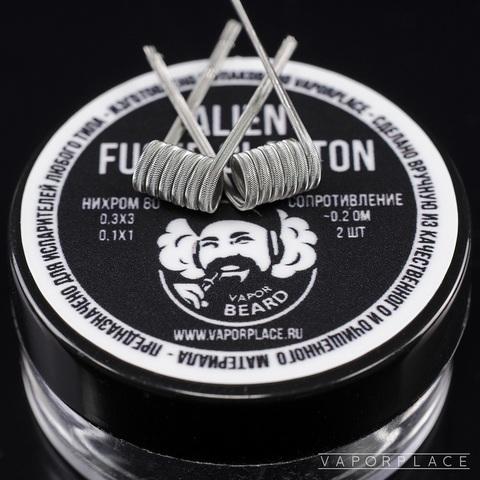 Alien Coil Vapor Beard (NiCr 0,3х3 NiCr 0,1) 3мм 0,2 Ом