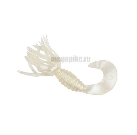 Приманка силиконовая Gene Larew Bobby Garland 1,5'' Crappie Spider (упак. 10 шт.) / цвет Pearl White