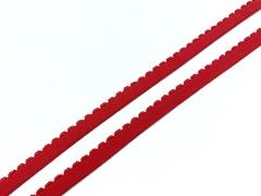 Резинка отделочная красная 10 мм (цв. 100)
