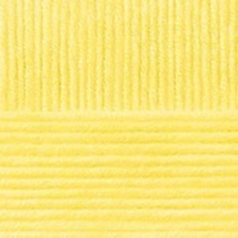 Пряжа Пехорка Осенняя светло-желтый 53
