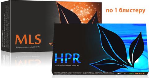 APL. Аккумулированные драже APLGO MLS+HPR для избавления от паразитов, очищения и восстановления печени по 1 блистеру