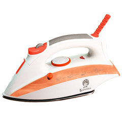 Утюг электрический ВАСИЛИСА У6-2000 белый с оранжевым