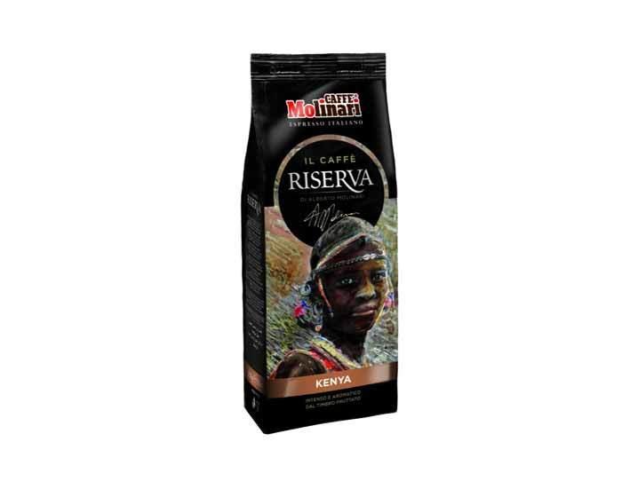Кофе в зернах Molinari RISERVA KENYA, 250 г
