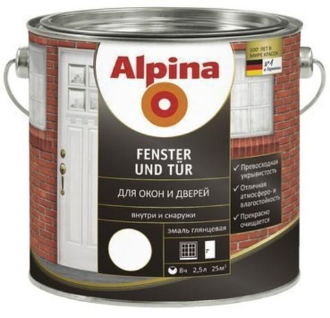 Alpina Fenster und Tur/Альпина Фенстер унд Тюр эмаль для окон и дверей