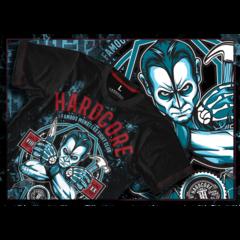 Футболка Hardcore Training Famous Monster Fight Club синяя