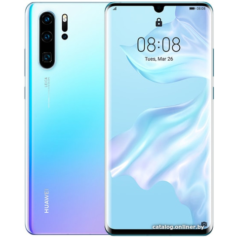 Смартфон Huawei P30 Pro 8/256GB (Светло-Голубой)  Breathing Crystal