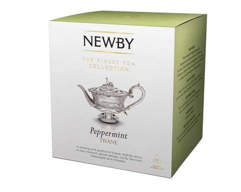 Чай травяной в пирамидках Newby Peppermint, 15 пак/уп