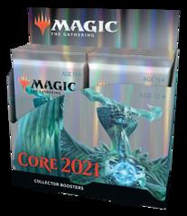 Дисплей коллекционных бустеров «Core set 2021» (на английском)