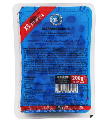 Маслины вяленые в вакууме XS, Marmarabilik, 200 г