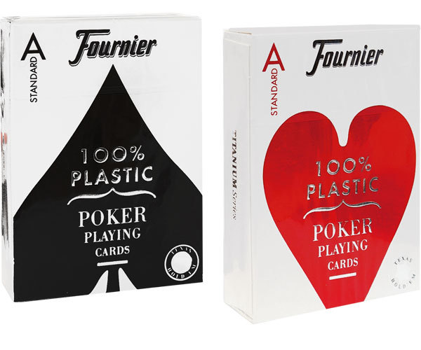 Пластиковые карты Fournier 2500 Standard
