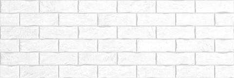 Плитка настенная Brick White 750х253