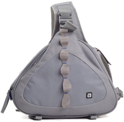 Однолямочный фото-рюкзак AGVER LTB 062 Серый