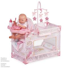 DeCuevas Манеж-игровой центр для куклы с аксессуарами серии