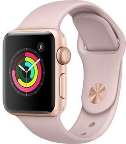 Watch S3 38mm Gold Al/Pink Sport Band