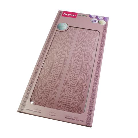 8463 FISSMAN Коврик для мастики текстурный 39x17 см,  купить