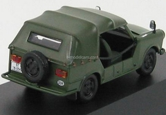 Trabant 601 Cabrio Kubel Military olive green 1965 IST022 IST Models 1:43