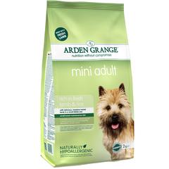 Сухой корм для взрослых собак мелких пород, Arden Grange Adult Dog Lamb & Rice Mini, с ягненком и рисом