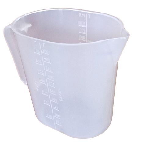 Кружка мерная 1 л со шкалой