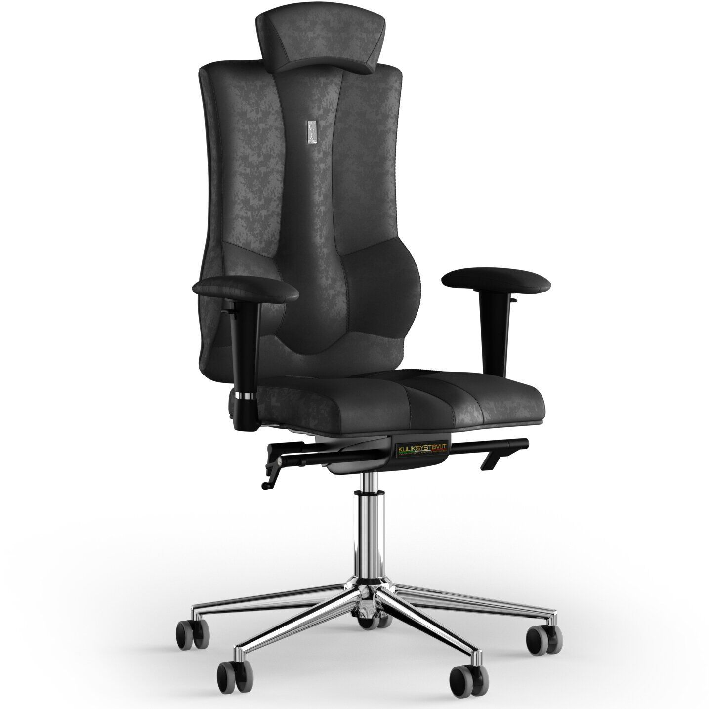 Кресло KULIK SYSTEM ELEGANCE Антара с подголовником без строчки