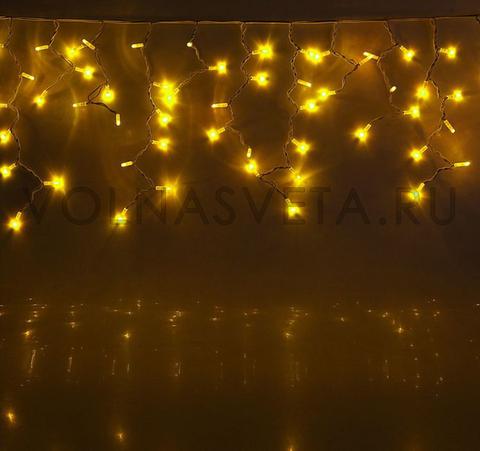 Гирлянда уличная Бахрома Желтая, 5,6x0,9 м, LED-330-220V