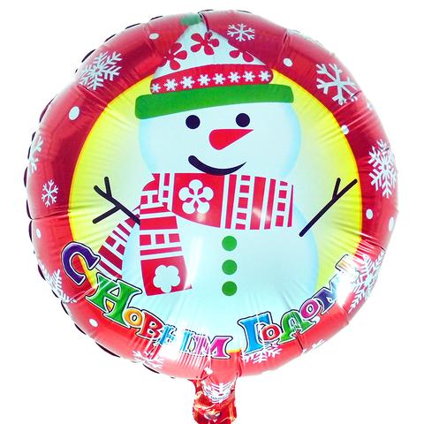 С Новым Годом! Снеговик