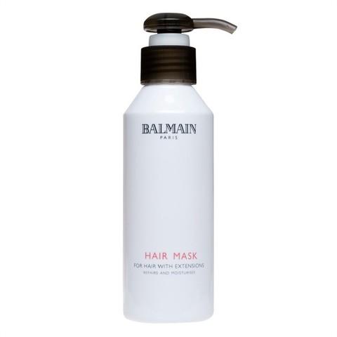 Balmainhair Профессиональная увлажняющая маска для наращенных волос 150 мл