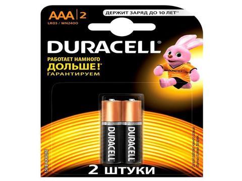 Э/п Duracell LR03 BL2   20/60