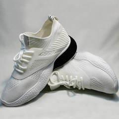 Белые кроссовки женские El Passo KY-5 White