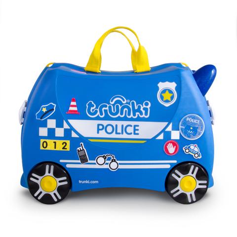 Чемодан на колесиках Полицейская машина Перси