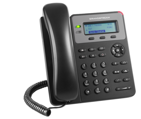 Grandstream GXP1615 - IP телефон. 1 SIP аккаунт, 2 линии, нет подсветки экрана, PoE