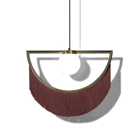 Подвесной светильник копия Wink by Houtique (бордовый)